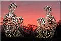 SE2813 : Spiegel by Jaume Plensa taken at The Yorkshire Sculpture Park : Week 3
