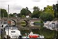 TQ7353 : East Farleigh Bridge by N Chadwick