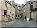 HU4741 : RNLI and Queens Hotel, Commercial Street, Lerwick by Rob Farrow