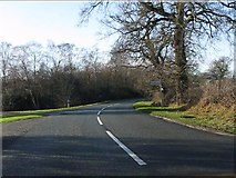 SJ8370 : Colshaw Lane junction, Siddington Heath by Peter Whatley