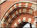 TQ3083 : The east side of (the old part of) St. Pancras Station (3) by Mike Quinn