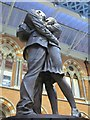 TQ3082 : &quot;The Meeting Place&quot;, St. Pancras Station by Mike Quinn
