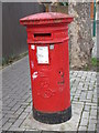 TQ2183 : Edward VII postbox, St. John's Avenue / Drayton Road, NW10 by Mike Quinn