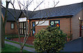 SJ8293 : Pentecostal Church and Nursery, Sandy Lane, Chorlton by John Rostron