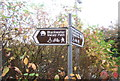 SU8853 : Blackwater Valley Path Sign by N Chadwick