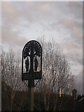TR1260 : Blean Village Sign by David Anstiss