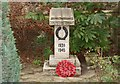 TQ3676 : St James, St James's, Hatcham - War Memorial WWII by John Salmon