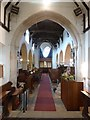 TL2051 : St Mary the Virgin, Everton, Interior by Alexander P Kapp