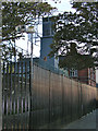 C4316 : Police Lookout on the walls of Londonderry, above the Bogside by Peter Skynner