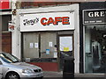 TQ2389 : Tony's Cafe, Church Road, NW4 by Mike Quinn