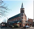 TQ2572 : St Luke, Ryfold Road, Wimbledon Park by John Salmon