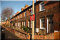 SK9772 : Mill Road cottages by Richard Croft