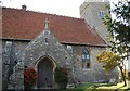 TQ8076 : Church of St Mary Hoo by N Chadwick
