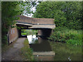 SJ8837 : Canal Bridge near Meaford, Staffordshire by Roger  Kidd