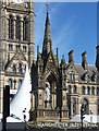 SJ8398 : Albert Memorial, Albert Square, Manchester by Stephen Richards