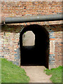 SJ8934 : Horse tunnel by the canal at Stone, Staffordshire by Roger  Kidd