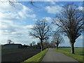 TF2900 : Thorney Dyke looking towards Prospect House by Richard Humphrey
