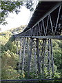 SX5692 : Meldon Viaduct From Viewing Platform under bridge by Keith Kingdom