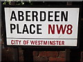 TQ2682 : Aberdeen Place by Colin Smith