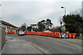 TQ4268 : Bridge repairs at Bickley station by Robin Webster