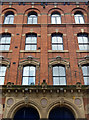 SJ8497 : Detail of 42-44 Sackville Street, Manchester by Stephen Richards