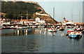 TA0488 : Scarborough Old Harbour 1984 by Roy Hughes