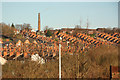 SK9871 : East End rooftops by Richard Croft