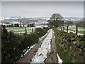 SE1843 : Bridleway descending towards Menston by Chris Heaton