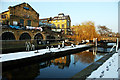 TQ2884 : Hampstead Road Lock London by Julian Osley