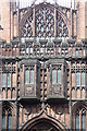 SJ8398 : Detail of John Rylands Library, Deansgate, Manchester by Stephen Richards