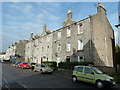 NJ9307 : Granite block, Elmbank Terrace, Aberdeen by Bill Harrison