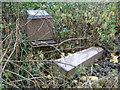 SP0590 : Fallen obelisk, Handsworth Parish Churchyard by Robin Stott