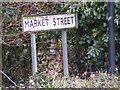 TM2972 : Market Street sign by Adrian Cable