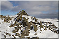 NT1421 : The Shepherds' Cairn on Cairn Law by Walter Baxter
