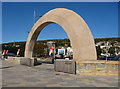ST3161 : Weston-Super-Mare - The Weston Arch by Chris Talbot
