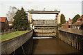 SK7894 : River Idle sluice by Richard Croft