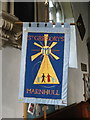 ST7818 : Banner, St Gregory's Church by Miss Steel