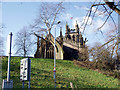 SJ8990 : St. Mary's Church viewed from near the River Goyt by Norman Caesar