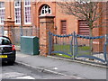 SO9199 : Wolverhampton College railings by Alan Murray-Rust