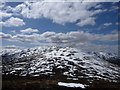NN4266 : Carn Dearg viewed from the Mam Ban by Alan O'Dowd