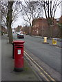 SO9596 : Mount Pleasant postbox ref WV14 220 by Alan Murray-Rust