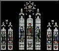 TQ2871 : All Saints, Brudenell Road, Tooting - Stained glass window by John Salmon