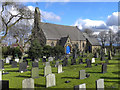 SJ6397 : St Mary's Church, Lowton by David Dixon