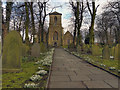 SJ6098 : Golborne Parish Church by David Dixon