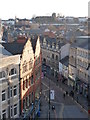 ST3188 : Newport: High Street from high up by Chris Downer