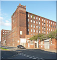 SJ8598 : Brunswick Mill, Bradford Road, Manchester by Stephen Richards
