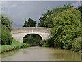 SJ6762 : Canal bridge near Wimboldsley, Cheshire by Roger  Kidd