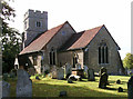 TL7608 : St Mary the Virgin church, Little Baddow, Essex by Peter Stack