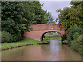 SJ6865 : Normans Bridge west of Middlewich, Cheshire by Roger  Kidd