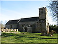 SP1017 : All Saints church, Turkdean by David Purchase